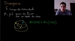 Video sobre la interpretación física de la divergencia